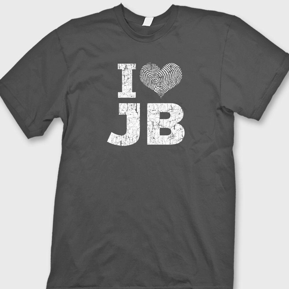Funny Novelty T-Shirt Mens tee TShirt I Love Heart Guys With Massive Wellies
