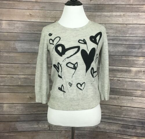 Christopher Fischer Cashmere Sweater Hearts (Size: