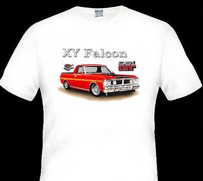 FORD  71/'  XY  351GT  UTE  SUPER ROO  WHITE TSHIRT  MEN/'S  LADIES  KID/'S  SIZES