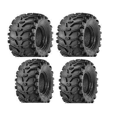 KENDA BEAR CLAW ATV TIRES 25x8-12 FRONT /& 25x10-12 REAR ALL 4 TIRES SET OF FOUR