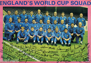 Image Is Loading ENGLAND 1966 WORLD CUP SQUAD Signed Photograph Winners
