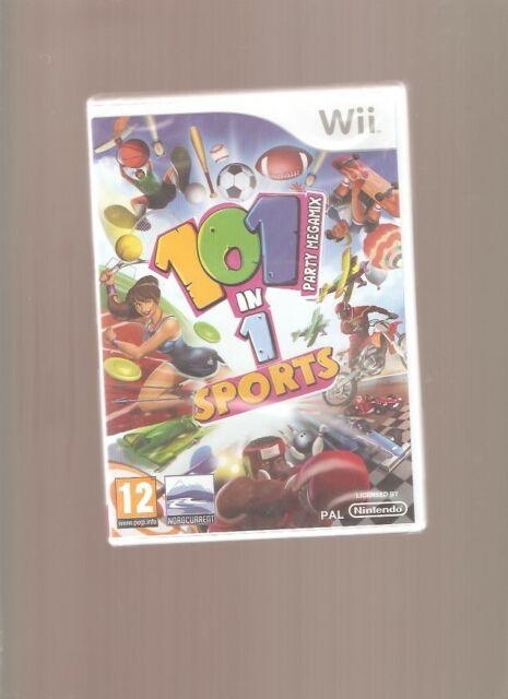Rare !!! 101 IN 1 SPORTS !!! 101 Jeux Captivants sur  Wii/WiiU: Jeu NEUF Blister