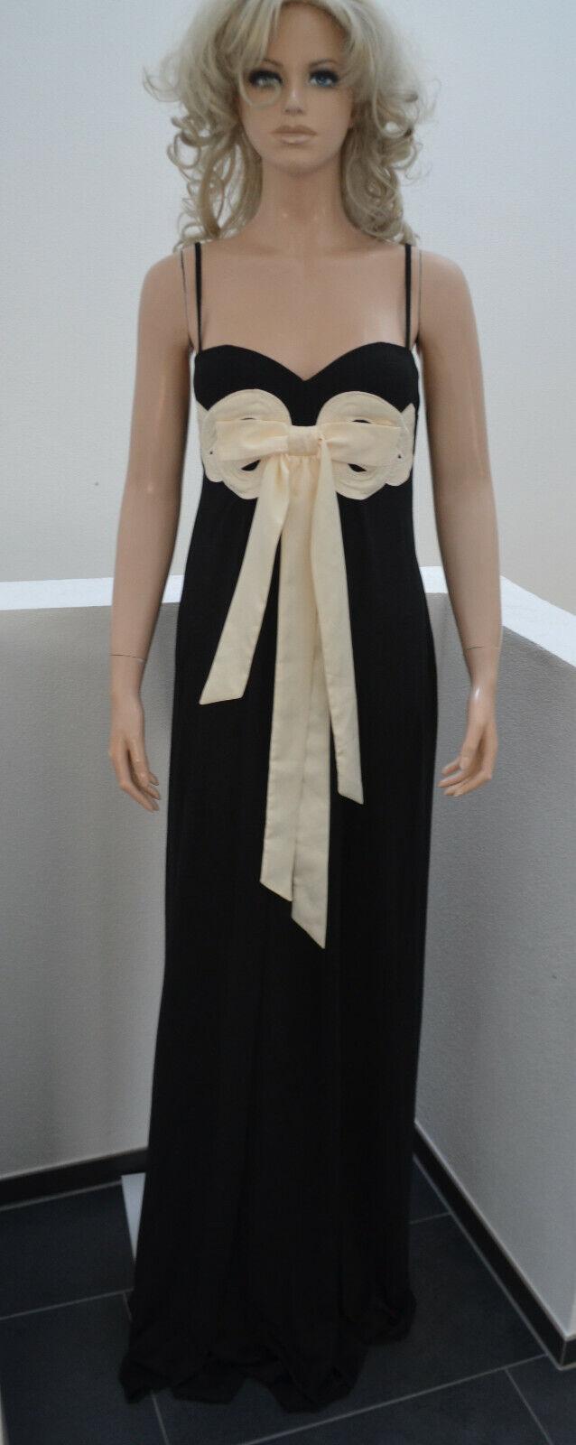 WOLFORD Maxi Silk-Viskose Kleid Dress Small Cup D