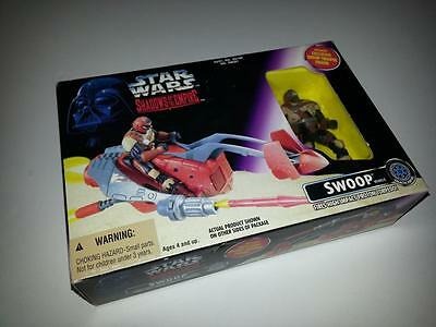 Vintage Star Wars Kenner Shadows of the Empire Swoop & Figure MIB/New '96