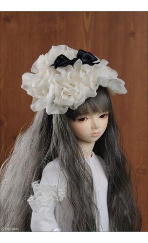 1//4  1//3 BJD Acc MSD /& SD Dollmore 083-Ivory BFBV Hairband