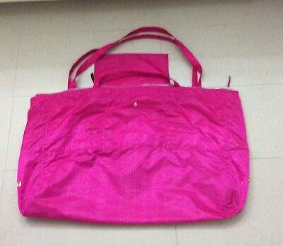 Lululemon The Yogi Tote Discover Manifesto Embossed Pow Pink Yoga Bag 2 In 1 Ebay
