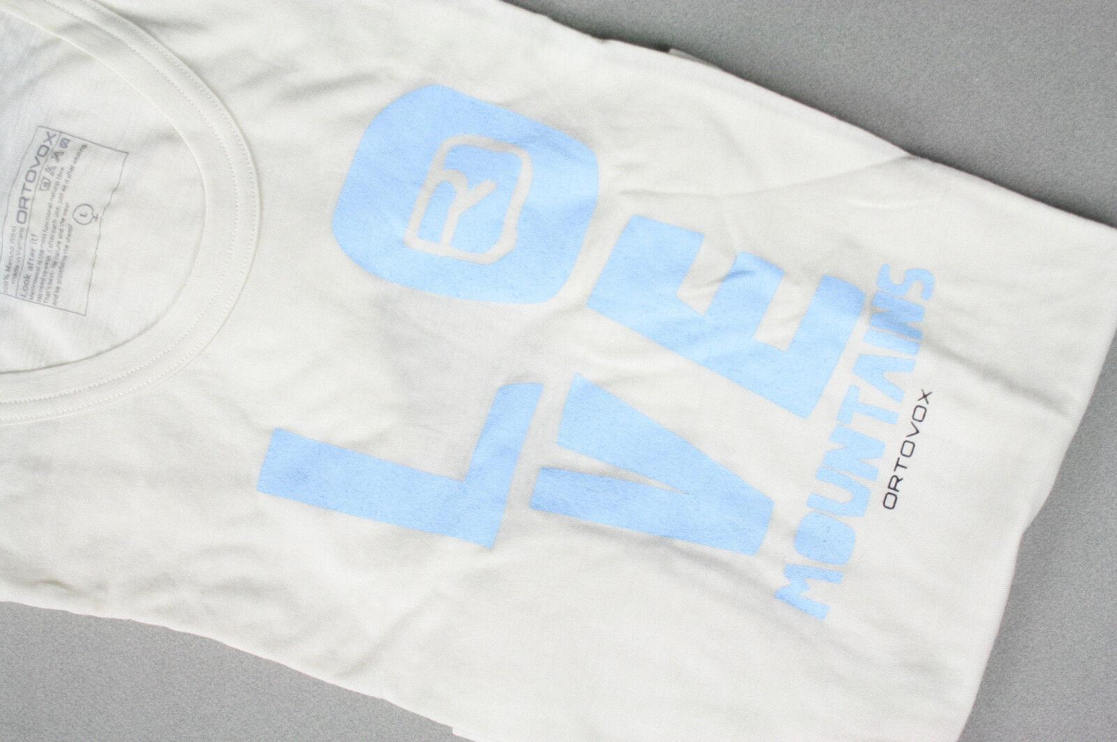 Ortovox 100% merino wool T-shirt
