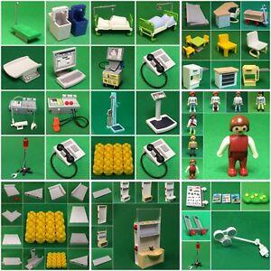 Citylife Playmobil  Ersatzteile  3144 Police Polizei Hubschrauber  zum aussuchen #W-3144 Playmobil