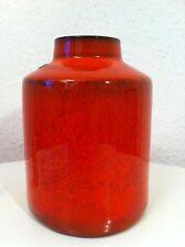Ceramano Granat Vase 33 Heuckeroth 60s 70er Fat Lava 60er 70s pop