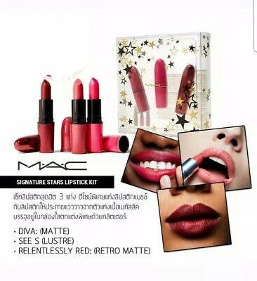 MAC Four Piece Lipstick Set | Groupon