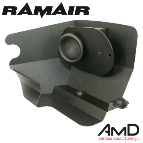 RAMAIR AUDI S3 8V Induction Kit Air Filter with Heat Shield /& Red Intake Hose