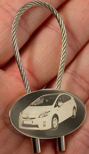 Toyota Schlüsselanhänger Z.B Aigo IQ MR2 Auris Corolla BJ60 Yaris FJ40 Gravur