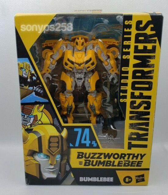 Transformers BUZZWORTHY BUMBLEBEE Studio Series #74 ROTF BB 74 Deluxe Camaro Sam
