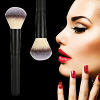 Professional Cosmetic Stipple Fiber Powder Blush Brush Foundation Makeup Tool