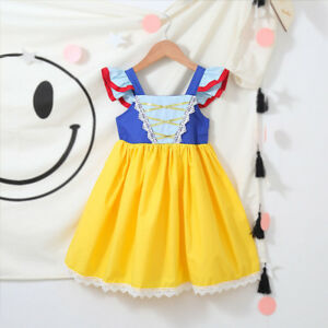 Princess-Snow-White-Cosplay-Fancy-GownCostume-Dress-For-Toddler-Baby-Kid-Girls