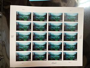 Scott #C142 Okefenokee Swamp MNH Sheet of 20 US Air Mail 69¢ Stamps 2007
