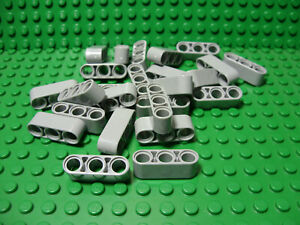 ** 25 CT LOT **  Lego NEW light bluish gray 1//2 technic pin pieces