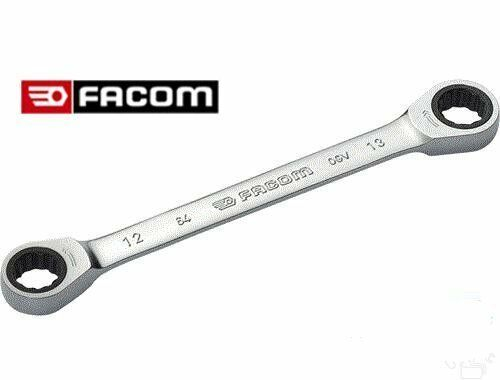 FACOM 64 Series 8 x 9mm LOW PROFILE Double End RATCHET RING SPANNER WRENCH