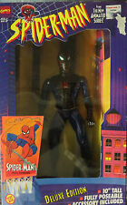 "Spider-Man Animated Series Wall Hanging Deluxe Edition 10"" Poseable Figure NIB"