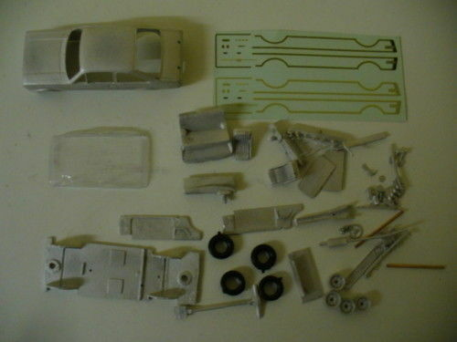 Ford Escort Mk2 1 43rd scale whitemetal kit by K & R Replicas