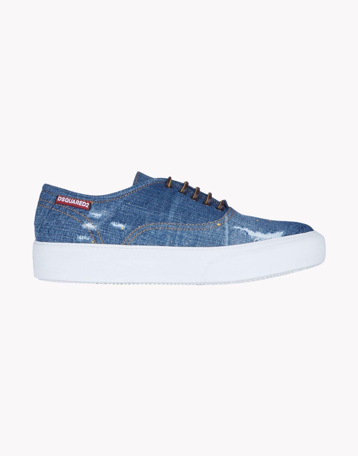 dsquared2 Sneaker Mann aus Denim (8DU)
