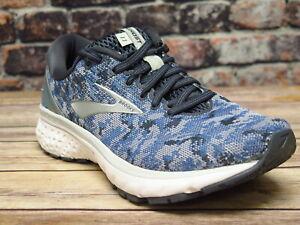 Women-039-s-Brooks-Ghost-11-Blue-Dark-Grey-Oyster-Running-120277495