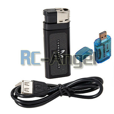 Q8 Mini DV Metal Lighter Hidden Spy Cam Camera Nanny DVR USB Video Recorder USA