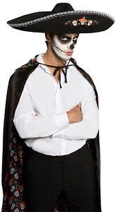 Caricamento dell immagine in corso Uomo-Donna-Sombrero-Messicano-Giorno-Dei -Morti-Costume- 7714349aaf7b