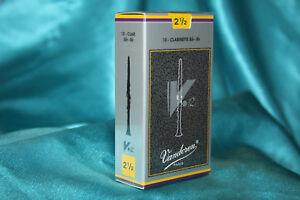 Box Of 10 Strength 2.5 NIB Vandoren Paris Alto Sax Reeds SR6125