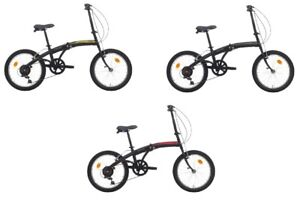 Bici Cinzia Pieghevole.Dettagli Su Bici Bicicletta Cinzia C Fold Trolley Pieghevole 24 6v