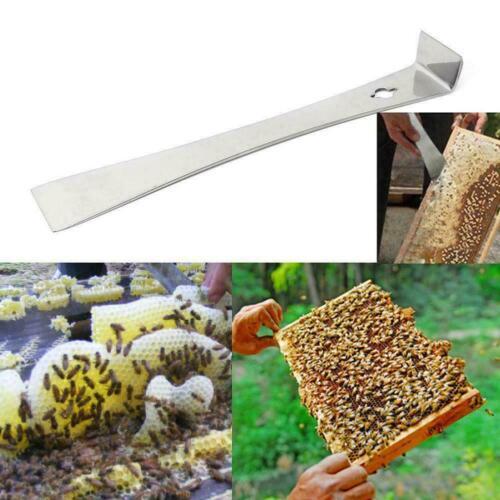26 cm Steel Bee Hive Scraper Beekeeping Tool Equipment Beekeeper C8J9