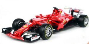 BBURAGO-1-43-2017-FERRARI-FORMULA-F1-SF70H-5-Sebastian-Vettel-modello-auto-in-Scatola