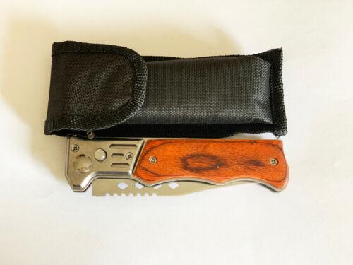 Taschenmesser Messer Camping Outdoor Messer,Jagdmesser Knife Einhandmesser