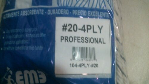 Elite 00303 Professional Cotton Mop Head #20 4 Ply