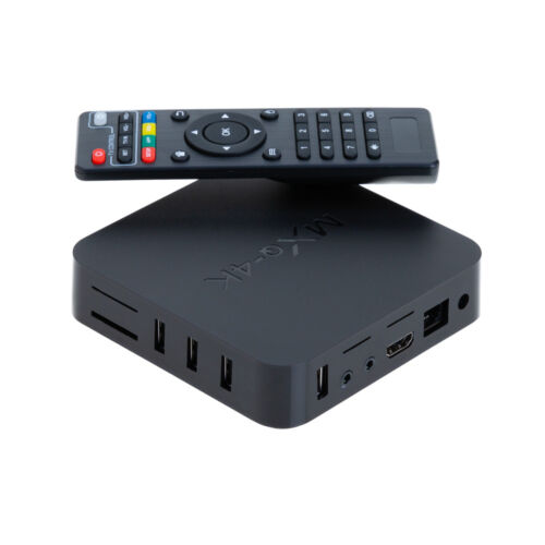 NEW MXQ Pro 4K 3D 64Bit Android 7.1 Quad Core Smart TV Box KODI 18 Streamer S905