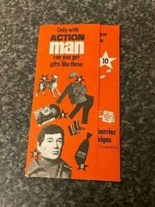 VINTAGE-ORIGINAL-PALITOY-ACTION-MAN-STARS-CARD-WITH-SOME-STARS-GOOD-CONDITION