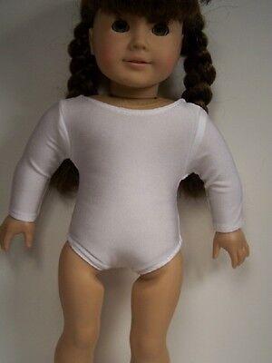 "Swirls Stars Flowers Dance//Gymnastics Leotard for 18/"" Doll Clothes American Girl"