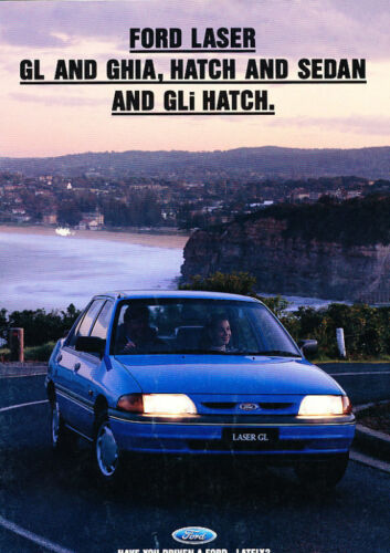 1993 1994 Ford Laser Australia Original Sales Brochure