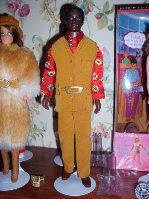 Brad Bendable Leg #1142 1969 In 1971 #1439 Suede Scene Barbie Mod Vintage