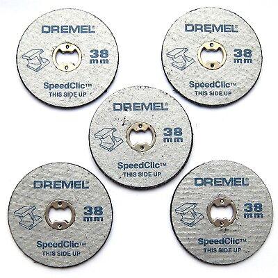 SC456B PACK OF 12 DISCS DREMEL SC406 ROTARY MULTI TOOL SPEEDCLIC STARTER KIT