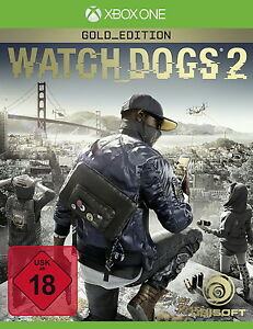 ONE-Watch-Dogs-2-Gold-Edition-NEU-Originalverpackt-vom-Haendler