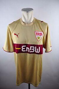 best website 4ae2a 168e9 Details zu VFB Stuttgart Trikot 2006-07 Gr. XXL Puma EnBW Jersey / maillot  gold vintage