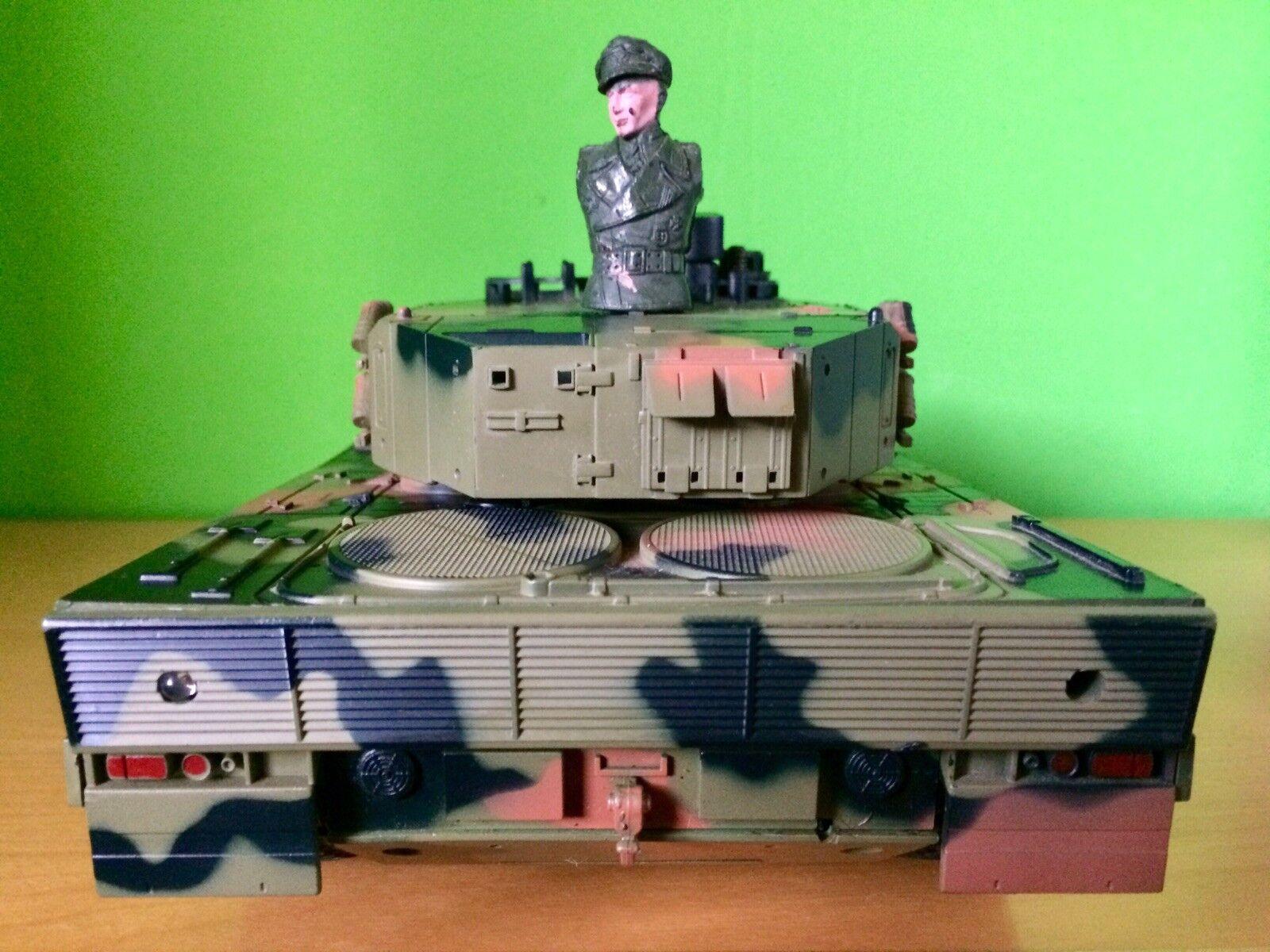 Heng Long Panzer Panzer Panzer 3819 Leopard RC German 1:16 metallo 90 fumo Sound 2,4 G Set OVP cae669
