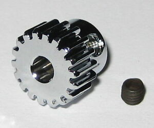 Duralumin-18-Tooth-Pinion-Gear-for-3-17-mm-Shafts-48-Pitch-18T-3-17mm