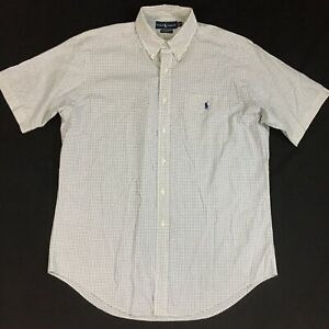Polo-Ralph-Lauren-s-s-pony-logo-shirt-Men-039-s-L