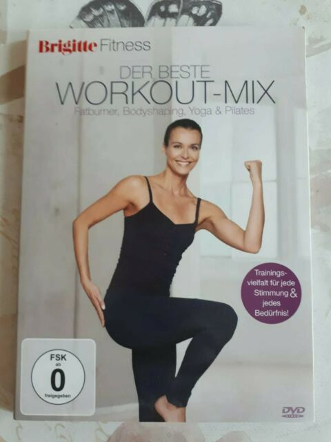 Brigitte Fitness- Der beste Workout Mix - DVD  - gebraucht gut