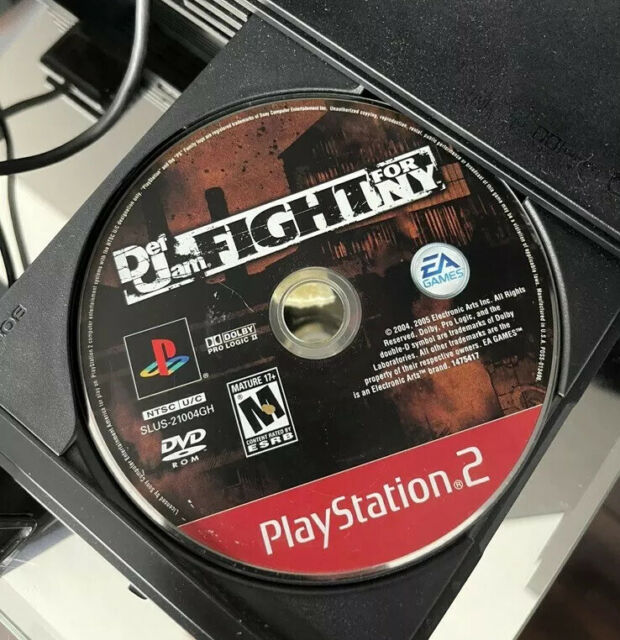 Def Jam: Fight for NY PlayStation 2 Greatest Hits Tested (Missing Manual)