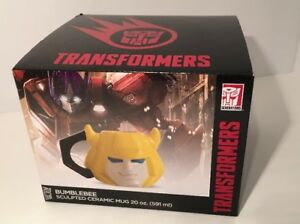 TRANSFORMERS BUMBLEBEE BUMBLE BEE SCULPTED CERAMIC MUG 20 OZ BRAND NEW UNOPENED