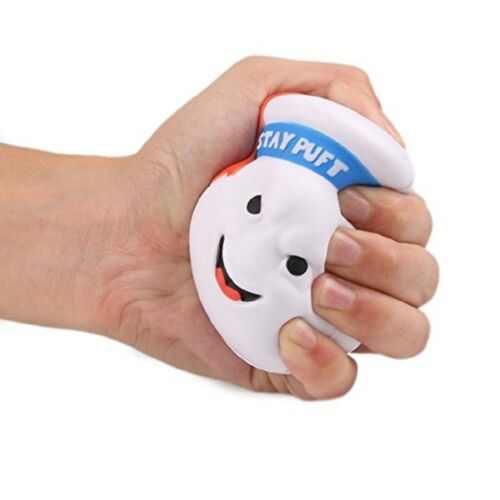 Squishy Ghostbusters Stay Puft Reduce Pressure Stress Relief Kids Toys for Play