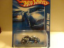 2007 Hot Wheels #135 Blue Go Kart w/5 Hole & 5 Spoke Wheels